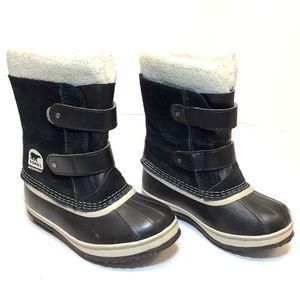Sorel kids waterproof duck boots, Size 13